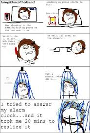 Funny Comic Memes - answering phone while sleeping funny meme comic funny clone