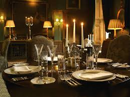 dining at the castle gallery castle leslie estate