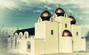 st mary and st abraam coptic orthodox church 2 digital art by