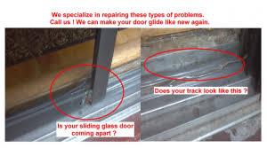 Patio Sliding Door Track Sliding Door Glass Repair And Patio Door Roller Replacement