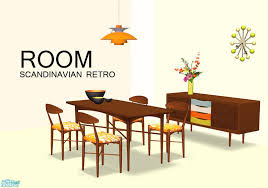 Scandinavian Dining Room Furniture Linegud U0027s Room Retro Scandinavian Dining Mesh Set