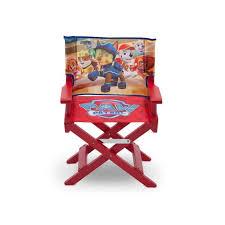 chaise de cinéma pat patrouille chaise de cinéma enfant et multicolore