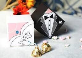 and groom favor boxes 100 and groom wedding favor boxes traditional wedding dress