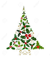 modern christmas tree clip art 59