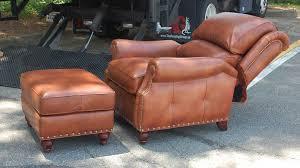 tilt back chair with ottoman hancock and moore 2062 westwood tilt back chair and ottoman in