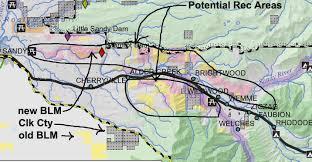 Mt Hood Trail Map Villages At Mt Hood