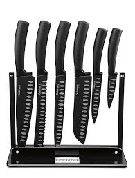 Kitchen Knives Reviews Amazon Com Cuisinart C77ns 7p 7 Piece Nonstick Cutlery Knife Set