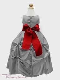 red and silver flower dresses naf dresses