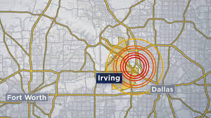 Dfw County Map Eight Earthquakes Rattle North Texas Tuesday Nbc 5 Dallas Fort Worth