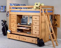 Captains Bunk Beds Stylish Bed Bunk Bed Mountain Size All In One Loft