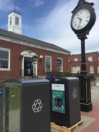 new trash solution installed on main street and in onset by