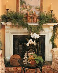 furniture and accessories gorgeous greenery christmas fireplace