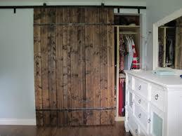Barn Door Bedroom by Rustic Bedroom Barn Door For Closet Decofurnish