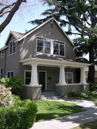 Two Story Craftsman by Stucco Craftsman Exterior Houzz