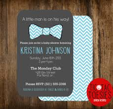 bow tie baby shower invitations theruntime com