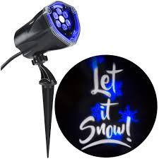 snowfall lights home depot lightshow projection plus whirl a motion and static let it snow