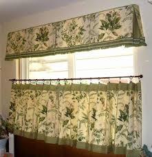 Kitchen Bay Window Curtain Ideas by White Paininting L Shape Kitchen Cabinet Kitchen Bay Window