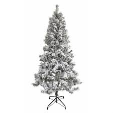 6ft snowy artificial tree at homebase co uk