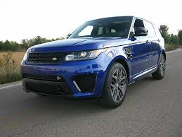 range rover truck the range rover sport svr it may just be the best suv ever