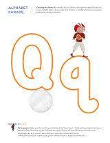 70 best pre k letter q images on pinterest letter activities