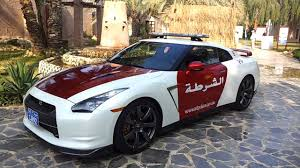 nissan uae abu dhabi police car nissan gt r youtube