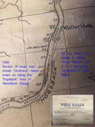 Solano County Map Historic Steamboat Slough And Snug Harbor Maps
