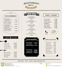 restaurant menu design stock photos images u0026 pictures u2013 47 156
