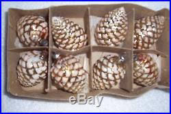 glass pinecone ornaments rainforest islands ferry