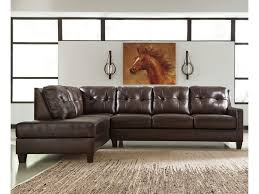 Sectional Sofa With Bed by Signature Design By Ashley O U0027kean Leather Match 2 Piece Sectional