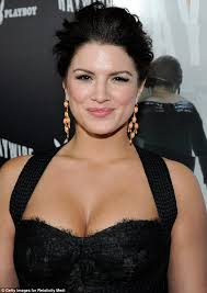Gina Carano Boob Slip - mma fighter gina carano steals the attention away from her famous