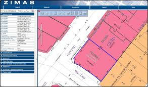 Los Angeles County Plat Maps by In The Know Zimas U2013 City Of Los Angeles Zone Mapping System The