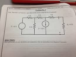 find the thevenin and norton equivalent circuits f chegg com