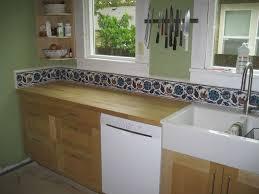 painted kitchen backsplash photos hand painted tiles kitchen backsplash modern railing stairs and