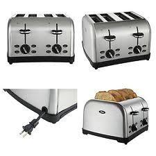 Cuisinart Toaster 4 Slice Stainless Cuisinart Cpt 180 4 Slice Toaster Ebay