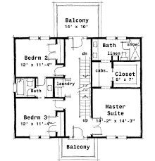 plan 44045td center colonial house plan narrow lot house