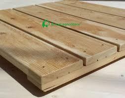 pedane per cani decking pavimento in legno pedana piatto doccia legno larice cm