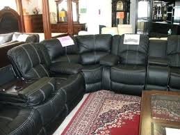 black leather sectional recliner sofa black leather sectional
