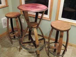 Barrel Bar Table Furniture Wine Barrel Bar Stools Tennessee Whiskey Pub Table