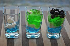 game day menu idea seahawks dessert shooter