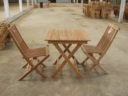 Teak Patio Table Outdoor Table And Chairs Folding Wood Outdoor Table And Chairs