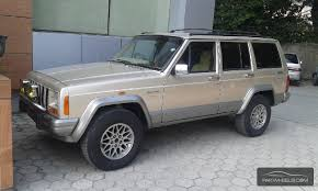 gold jeep cherokee jeep cherokee country limited 1995 for sale in lahore pakwheels