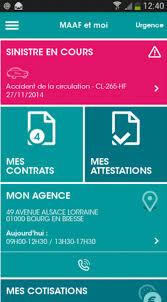 Maaf Assurances Si Maaf Et Moi La Nouvelle Application Mobile De Maaf