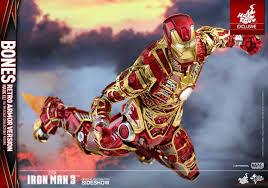 marvel iron man mark xli bones retro armor version sixth s