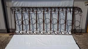 ringhiera fai da te balcone ringhiera in ferro battuto antica giardino e fai da te