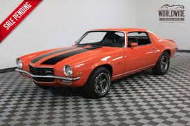 1973 orange restored z28 tribute hugger orange paint for sale