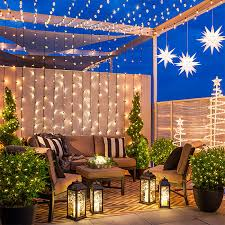 outdoor space ideas 6 christmas lighting ideas for a porch deck or balcony