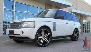 range rover black rims kc trends showcase 22x9 verde parallax machined black wheels