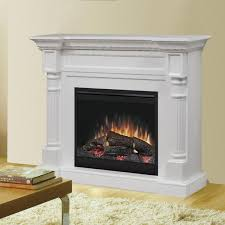 dimplex winston 52 inch electric fireplace mantel standard logs