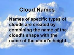 3 kinds of clouds cloud types ppt