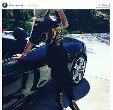 blac chyna jeep celebrity rides blac chyna and amber rose